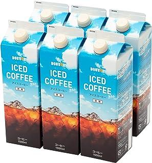 ドトールコーヒー LB144 微糖コーヒー 1000ml×6箱