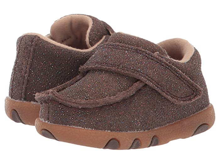 Twisted X  Driving Moc (Infant/Toddler) (Chocolate Shimmer) Shoes