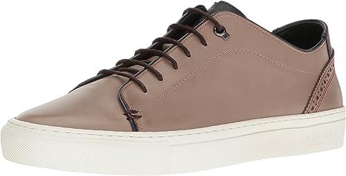 Ted Baker KIING LTHR AM Décontracté chaussures, paniers Mode pour Homme gris