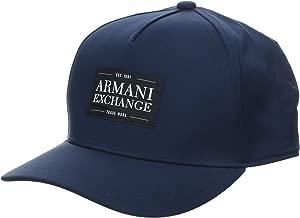 A|X Armani Exchange Men's Patch Logo Hat
