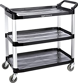 AmazonCommercial - Carrito de servicio con 3 estantes