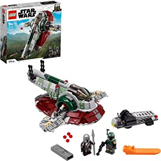 LEGO® Star Wars™ Boba Fett's Starship™ 75312 Building Kit (593 Pieces)