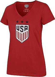 OTS World Cup Soccer Women's Rival V-Neck Tee