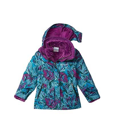 Columbia Kids Bugabootm II Fleece Interchange Jacket (Little Kids/Big Kids) (Plum Leafscape Print) Girl