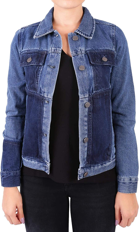 Waven Women's LANANS5255PEELblueE bluee Cotton Jacket