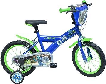 Disney Monsters Academy University Bicicleta niño: Amazon.es: Deportes y aire libre
