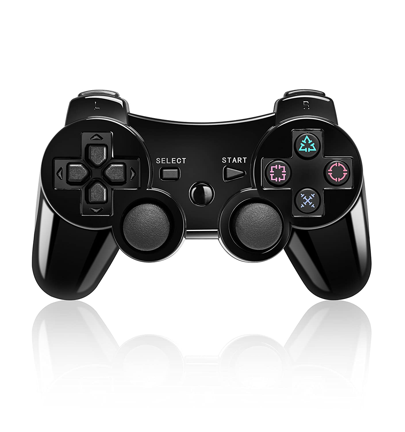 Bluetooth Wireless Vibration Game Manufacturer OFFicial shop Controller Sony for c Max 81% OFF PS3 with