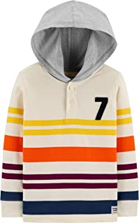 Baby Boys' Hooded Rugby Top