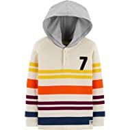 Boys' Hooded Rugby Top