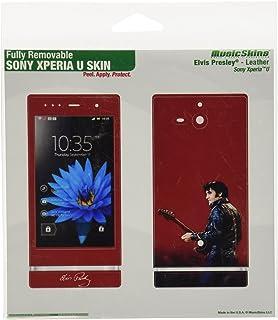 MusicSkins Elvis Presley Leather Skin for Sony Xperia U