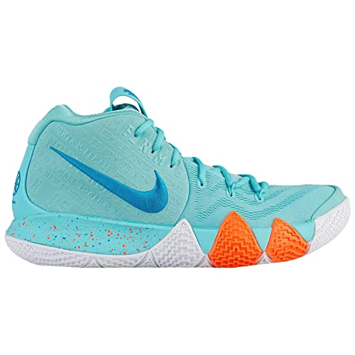 Nike Mens Kyrie 4 Basketball Shoes (12, Light Aqua)