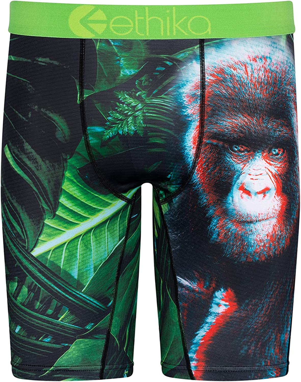 Ethika Boys Staple Boxer Briefs | Gorilla Glitch 3D