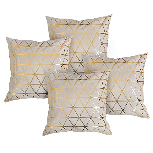 Gold Decorative Pillows Amazon Co Uk