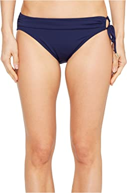 Tommy Bahama - Pearl Hipster Bikini Bottom with Ring