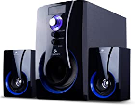 Zebronics Computer Multimedia 2.1 Speaker with Bluetooth, SD Card, USB, AUX, FM and Remote Control - BT2490RUCF