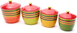 Best certified international hot tamale 4 piece canister set Reviews