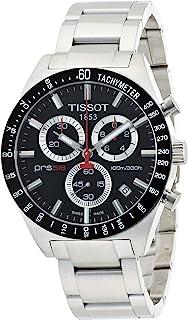 Tissot Men's T0444172105100 PRS 516 Black Chronograph Dial Watch