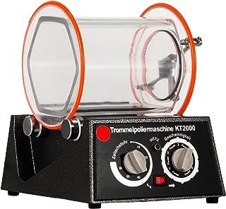 BestEquip Jewelry Polisher Tumbler 5Kg Capacity Mini Rotary Tumbler Machine with Timer Jewelry Polisher Finisher for Jewelry Stone (5 Kg Capacity)