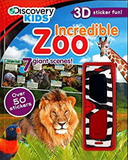 Incredible Zoo (Discovery Kids) (Discovery Kids 3D Sticker fun!)