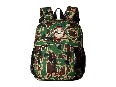 e91b0435377f mini rodini Camo School Bag at Luxury.Zappos.com