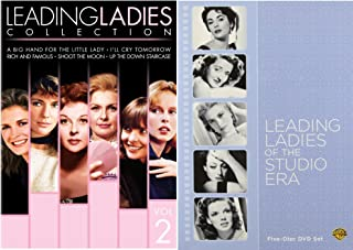Leading ladies CollectionDVD Set - 10 movies Now Voyager / Mildred Pierce / For Me and My Gal / Father of the Bride / Dial M for Murder - Rich & Famous / Up the down staircase - Shoot the moon