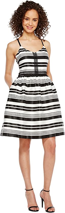 Striped Party Dress JS7A9599