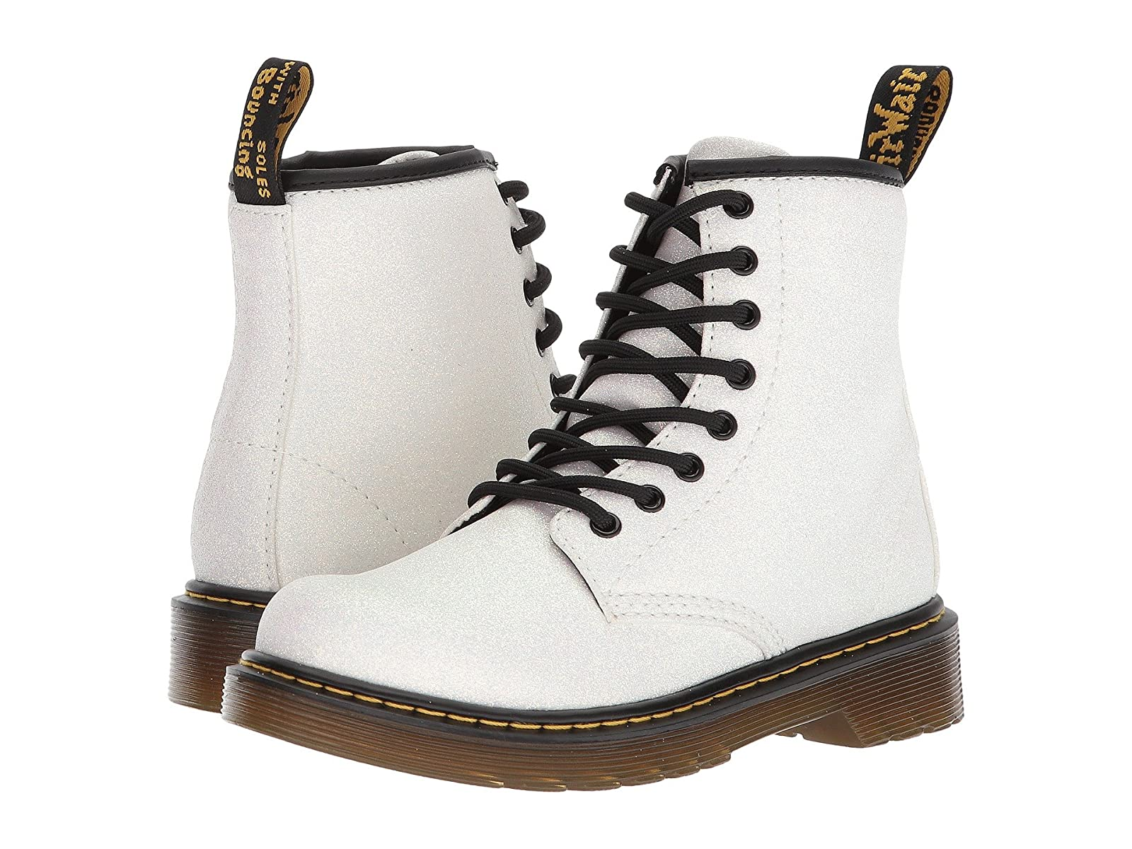 Dr. Martens Kid's Collection 1460 Glitter Junior Delaney Boot (Little Kid/Big Kid)Affordable and distinctive shoes