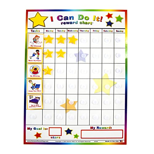 Sticker charts for kids amazon com