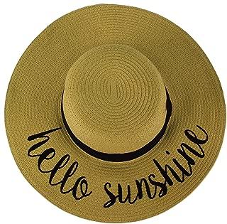 Best hello sunshine sun hat Reviews