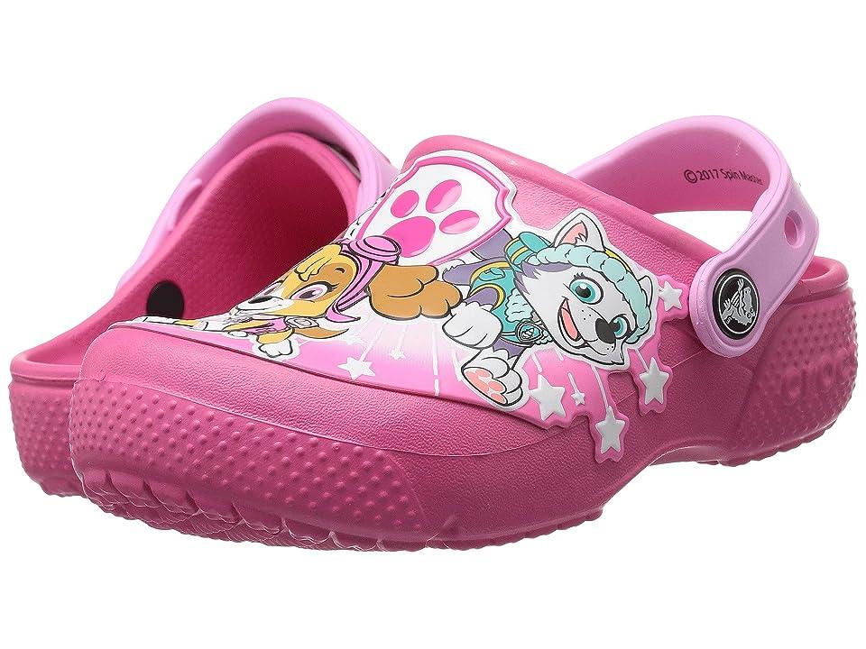 Crocs Kids Crocs FunLab Paw Patroltm Clog (Toddler/Little Kid) (Vibrant Pink) Girl