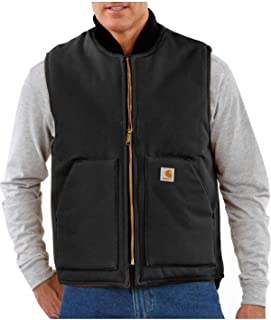 Men's Big & Tall Duck Vest Arctic Quilt Lined V01