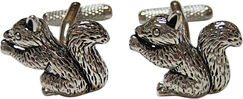 Shiny Squirrel Cufflinks
