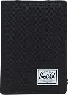 Herschel Supply Co. Men's Raynor RFID Passport Holder, Black, One Size