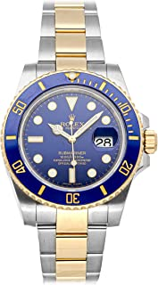 Submariner Mechanical (Automatic) Blue Dial Mens Watch 116613LB (Certified Pre-Owned)