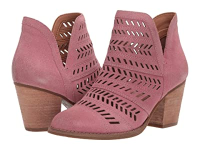 FRYE AND CO. Allister Feather Bootie (Watermelon Suede) Women