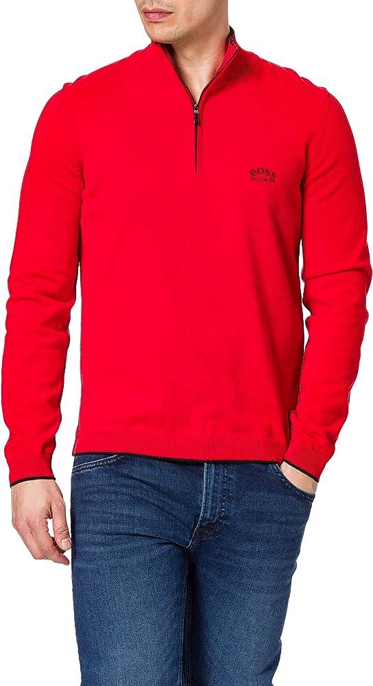 Boss, felpa, pullover per uomo,100% cotone 50440712