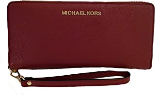 3bce063934 Michael Kors Money Pieces Travel Continental Saffiano Leather (Mulberry)