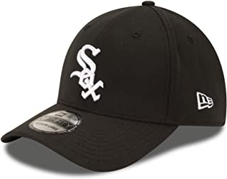 MLB Chicago White Sox Team Classic Game 39Thirty Stretch Fit Cap, Black, Medium/Large
