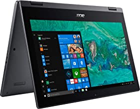 Acer Spin 1 SP111-33 Ultra Slim Touch 2-1 Laptop Intel Processor N4000 4GB 64GB SSD 11.6in HD LED Windows 10 in S Mode HDMI Webcam (Renewed)