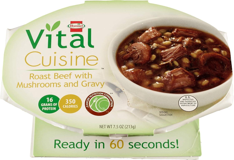 Choice Hormel Healthlabs Vital Cuisine Roast with Beef Gra Mushroom and Portland Mall