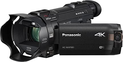 Panasonic 4K Cinema-Like Video Camera Camcorder HC-WXF991K, 20X Leica DICOMAR Lens,..