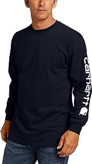 Carhartt Men's Big & Tall Signature-Sleeve Logo...