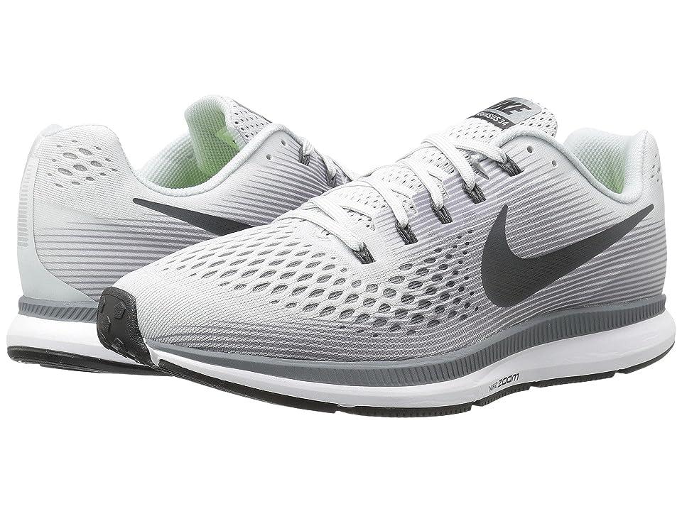 Nike Air Zoom Pegasus 34 (Pure Platinum/Anthracite) Men