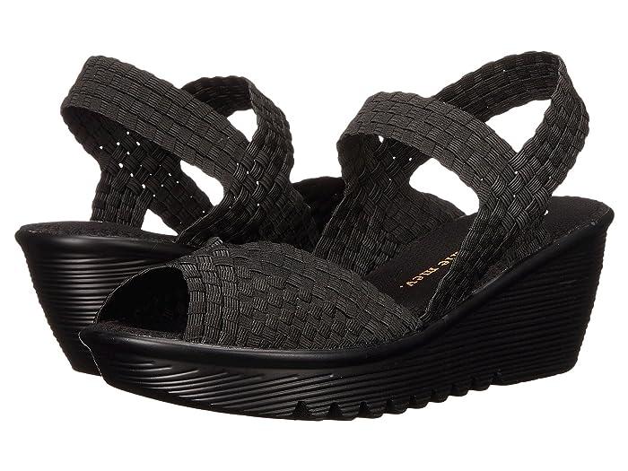 bernie mev.  Fame (Black) Womens Sandals