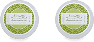 Natural Inspirations Mini Body Butter 2 Piece Set, Eucalyptus Rosemary Mint