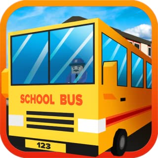 Blocky City School Bus Driver Simulator Game: Transport Students In Euro Driving Mania Pro Adventure Mission