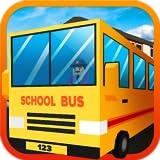 Gioco simulatore di Blocky City School Bus Driver: trasportare gli studenti in Euro Guida Mania Pro Adventure Mission