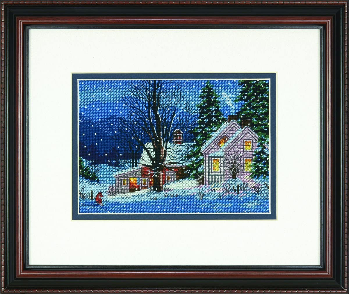 Dimensions Gold Collection Counted Cross Wi Stitch Night' 2021 model Denver Mall 'Quiet