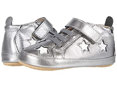 Old Soles High Splash (Infant/Toddler) (Rich Silver/Snow) Girl