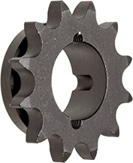Martin Roller Chain Sprocket, Taper Bushed, Type B Hub, Single Strand, 50 Chain Size, For 1008 Bushing, 0.625